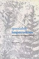 Cover of Quotable Impressions